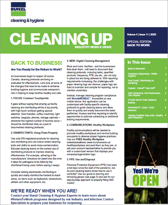 Newsletter cover
