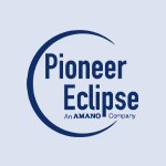 Pioneer Eclipse company logo in blue colour on a transparent background