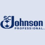 SC Johnson Professional company logo in blue colour on a transparent background